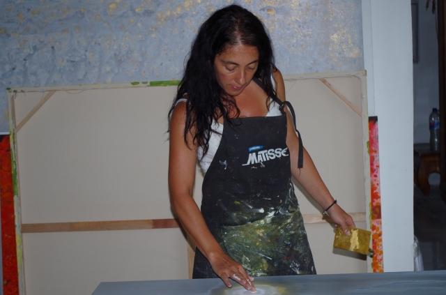 hold-tenger festés