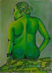 12 zöld nő