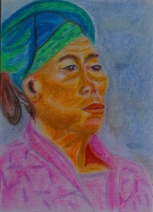 15 colorful old woman