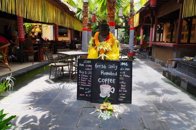 buddha és kávézó