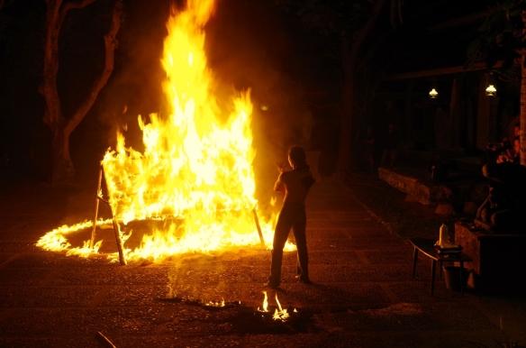 tüzes kép