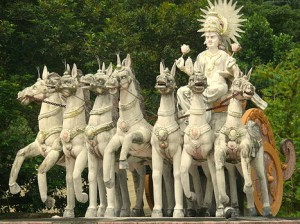 surya-with-horses